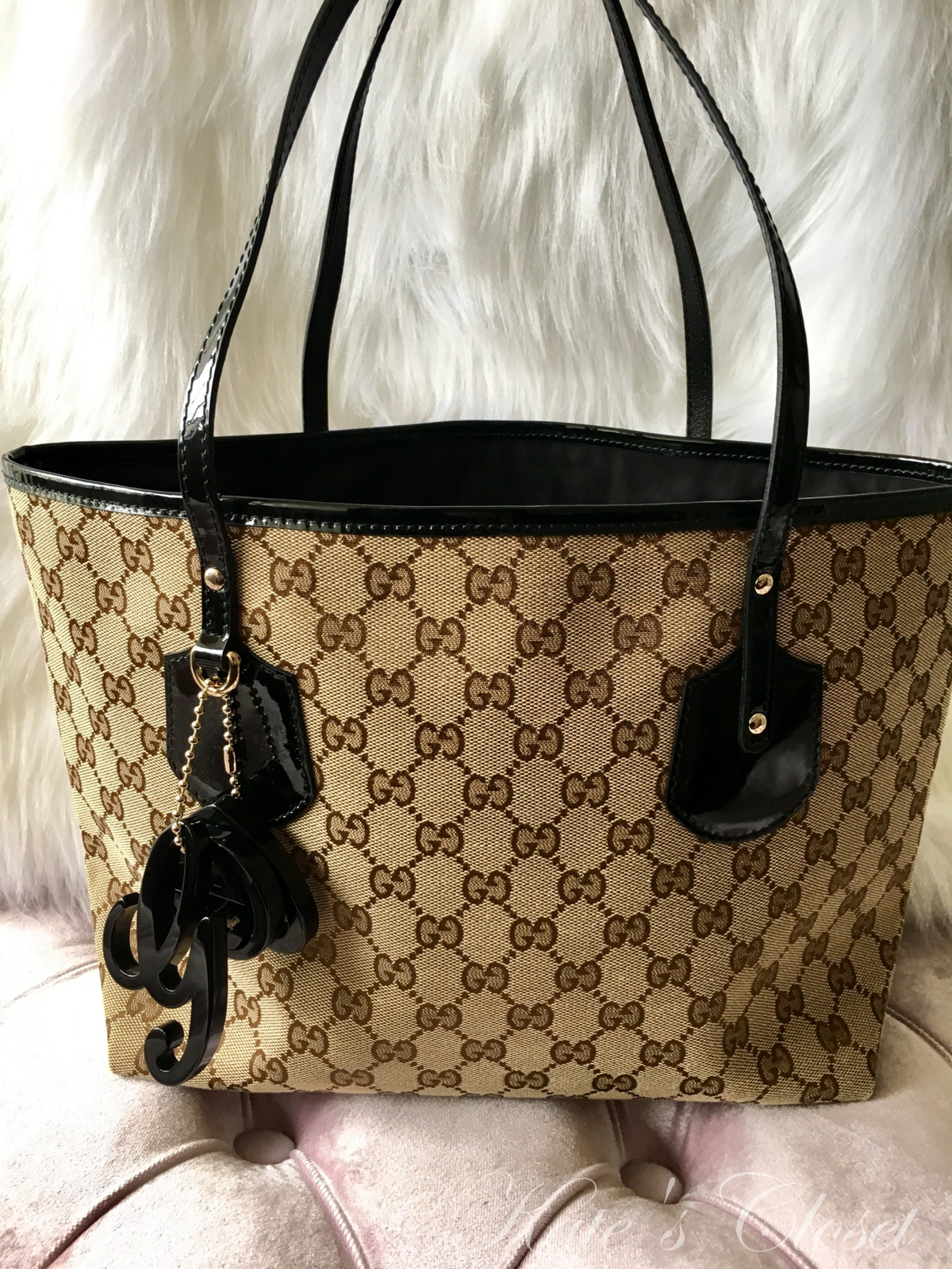 GUCCI Jolie GG Canvas Tote Bag