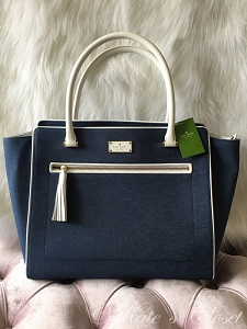 NEW KATE SPADE Allyn Denim Tote