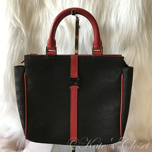 Balenciaga BB Tote Red/Black