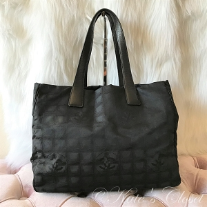 CHANEL Travel Line Tote- Black