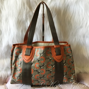 Celine Vintage Tote- Orange