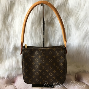 LOUIS VUITTON Monogram Looping MM (Condition: BBC)