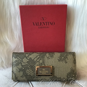 VALENTINO Lace Wallet
