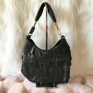 YSL St. Tropez Hobo Bag- Black