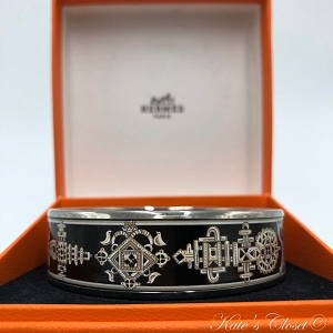 HERMES Enamel Bracelet/Bangle