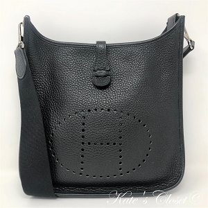 HERMES Evelyne PM Togo Messenger Bag