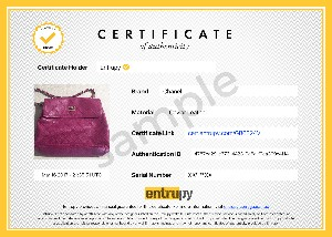 Cert of Authenticity Only- (Hermes)